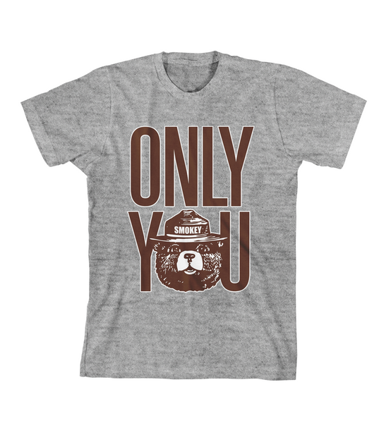 ONLY YOU #1 TEE - Grey