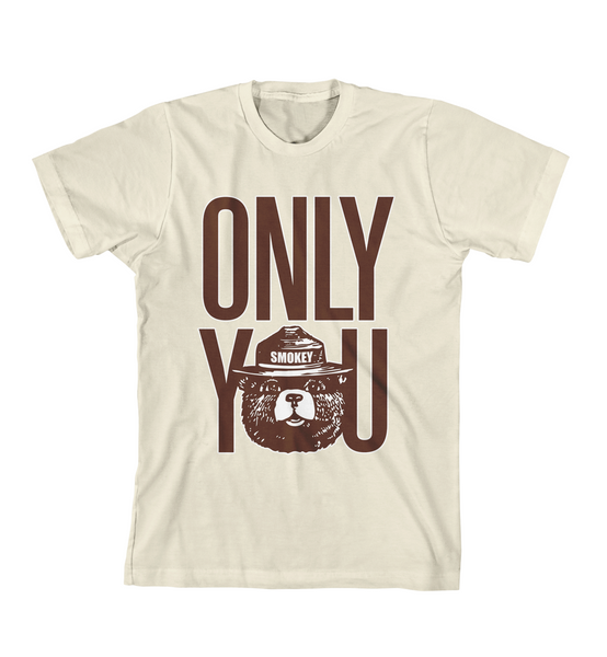 ONLY YOU #1 TEE - Natural
