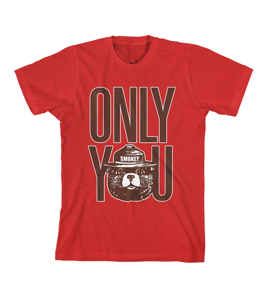 ONLY YOU #1 TEE - Red
