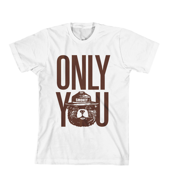ONLY YOU #1 TEE - White