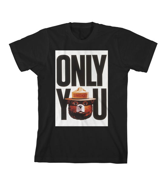 ONLY YOU #2 TEE - Black