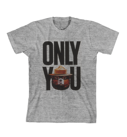 ONLY YOU #2 TEE - Grey