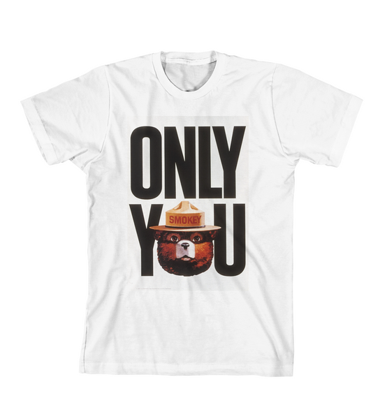 ONLY YOU #2 TEE - White