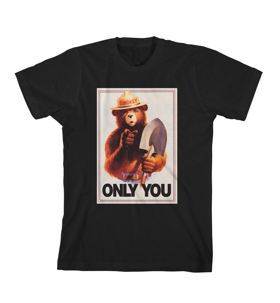 ONLY YOU #3 TEE - Black