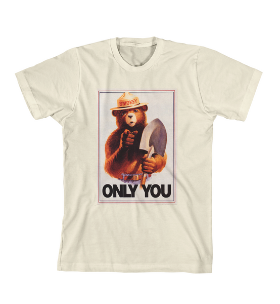 ONLY YOU #3 TEE - Natural