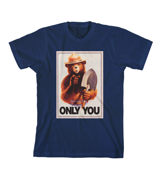 ONLY YOU #3 TEE - Navy Blue