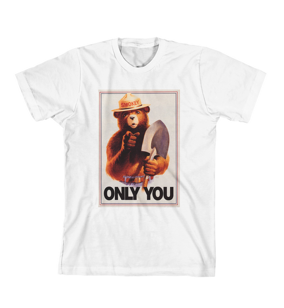ONLY YOU #3 TEE - White