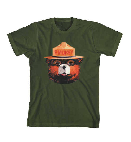OG SMOKEY 4C TEE - Forest Green