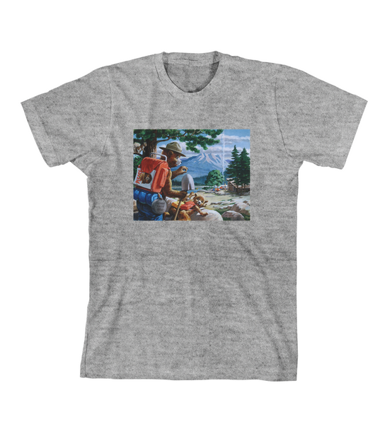 SMOKEY AND THE CUB TEE - Grey