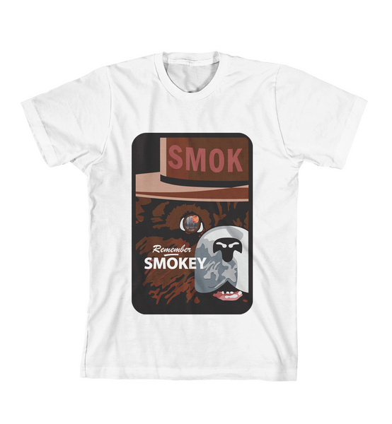 REMEMBER SMOKEY TEE - White