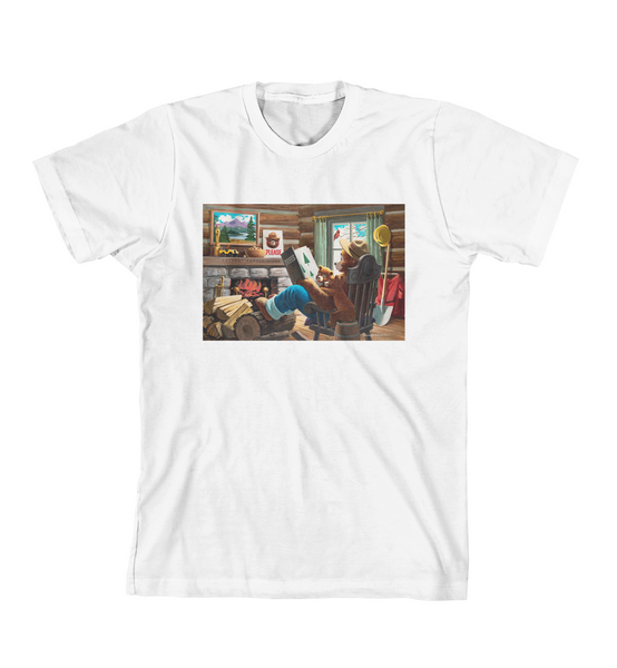 STORY TIME TEE - White