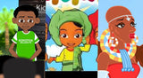 A List of Black African Made Children's Animated Cartoons