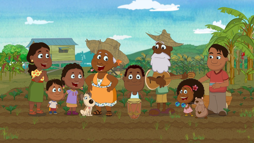 An Afro Colombian Cartoon Series for Kids