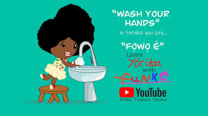 The Adventures of Funke. Wash Your Hands!