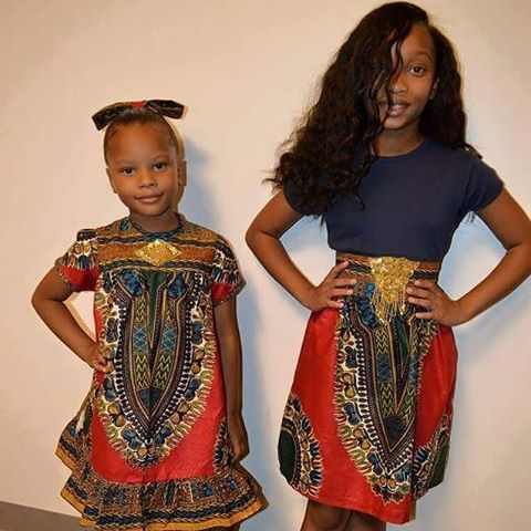 66bb4c52072 Happy Village s goal is to create African inspired fashion for kids of all  ages