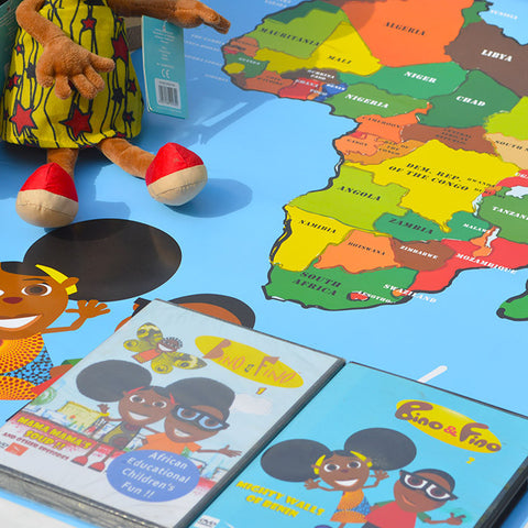 Bino and Fino African Knowledge Play Set
