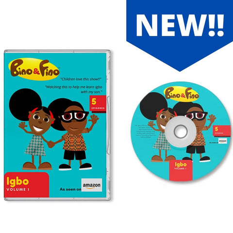 Bino and Fino Igbo Version DVD Volume 1