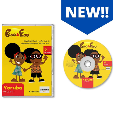 Bino and Fino Yoruba Version DVD Volume 1