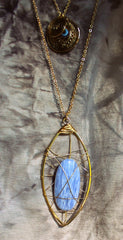 Wire Guardian Stone Necklaces