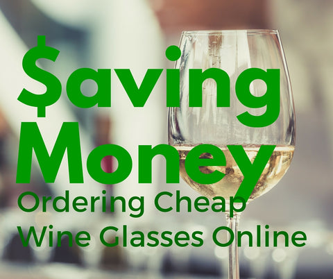How to order cheap wine glasses online