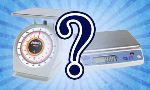 Mechanical Scale vs. Digital Scale? Which do I Choose?