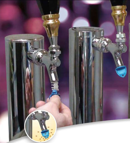 beer tap plugs from San Jamar