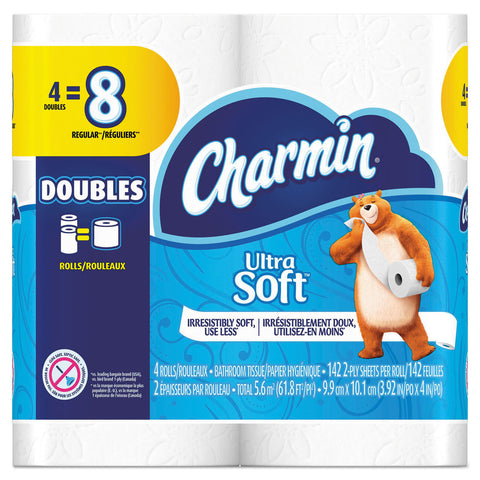 Charmin 13258 Toilet Tissue Ultra Soft Double Roll
