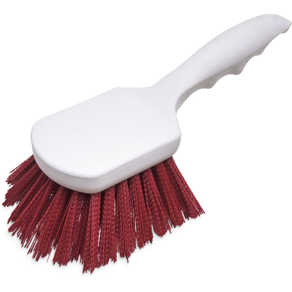 Carlisle 4054105 Sparta Red Utility Scrub Brush 8