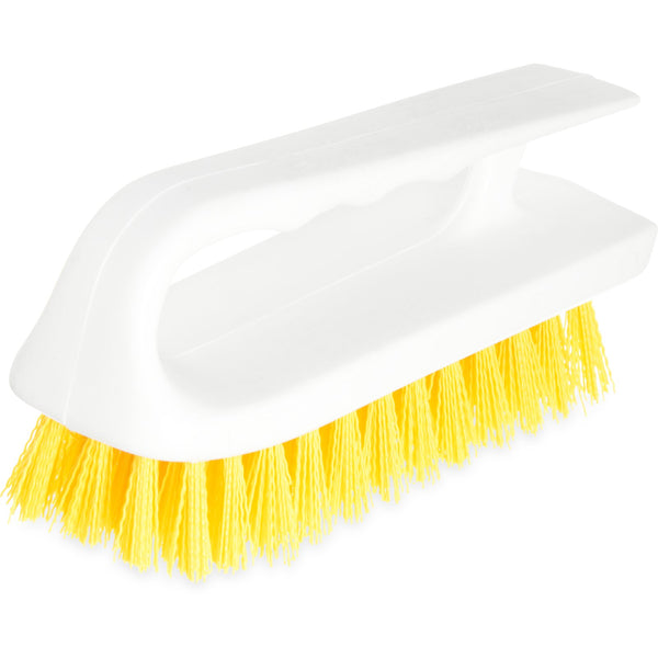 Carlisle 4002404 Sparta Yellow Hand Scrub Brush 6