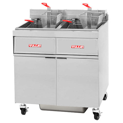 Vulcan 2GR45MF Gas Fryer Two 45 lb Tanks, Millivolt