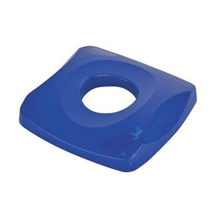 Rubbermaid 2691 Blue Bottle & Can Recycle Top