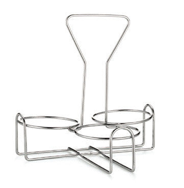 Tablecraft 355R3 3 Ring Chrome Plated Rack For 355