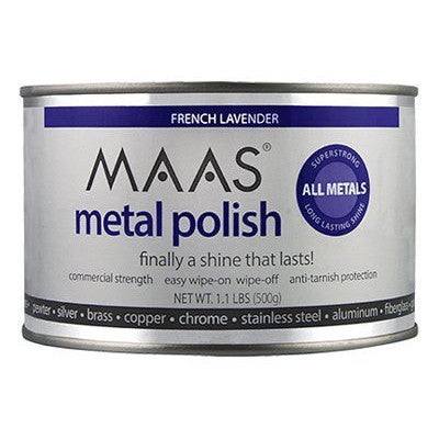 MAAS 1.15 Lb Can Metal Polishing Creme 6/Case