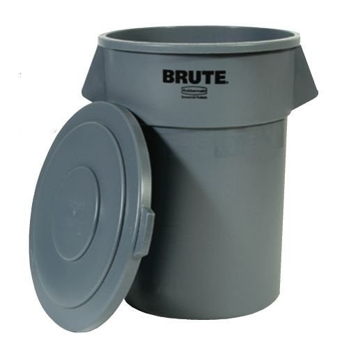 Rubbermaid 2610 10 Gallon Gray Brute