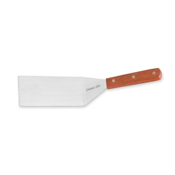 Mundial 4685M 6 X 3 Wood Handle Square End Spatula