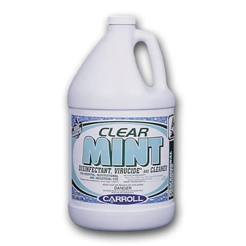 Carroll 75628 Gal Clear Mint Disinfectant/Virucide