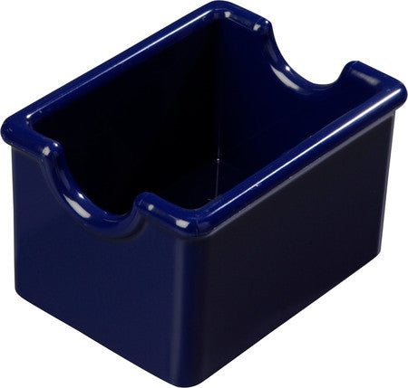 Carlisle 455060 20 Packet Sugar Caddy Cobalt Blue