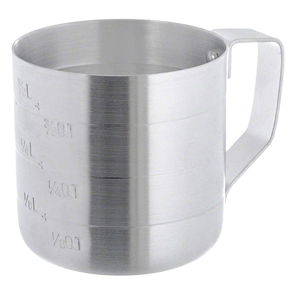 Update ADME-05 1 Pints Aluminum Dry Measure Cup