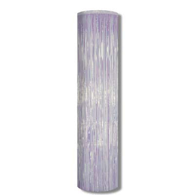 Beistle 50515-S 8' x 11' Silver Metallic Column