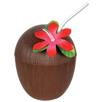 Beistle 50836 16 Oz Coconut Cup