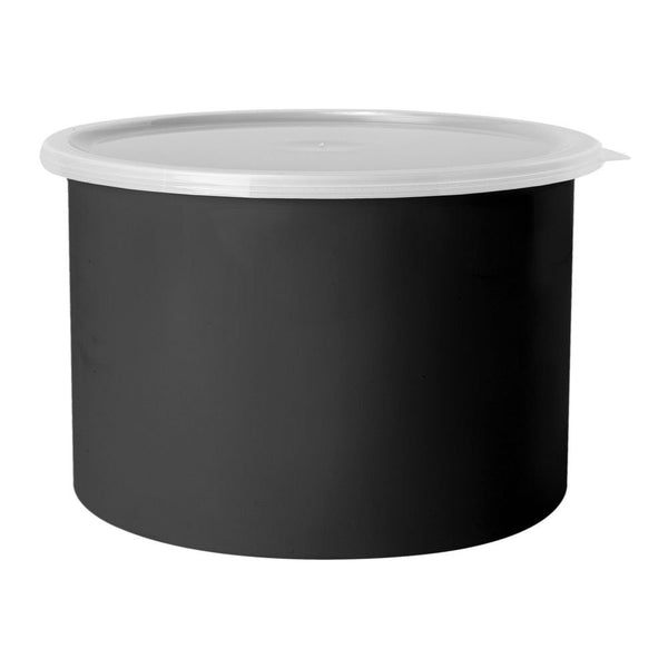 G.E.T. CR-0150-BK 1.5 Qt Crock With Lid Black