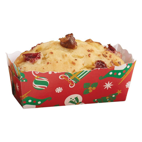 Hoffmaster 610902 Small Holiday Loaf Pan