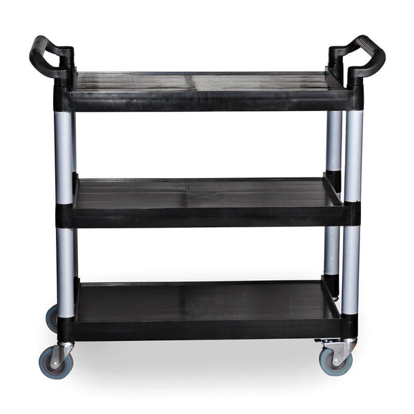 Update BC-2416BZ Aluminum 3-Tier Heavy Duty Bus Cart