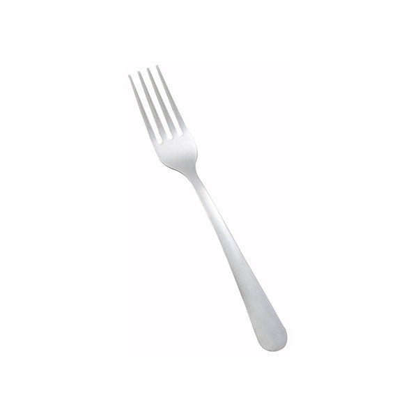 Winco 0002-05 Windsor Medium Weight Dinner Forks 12/Pack