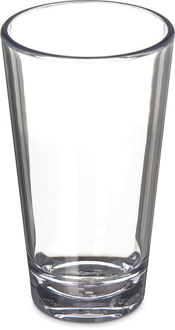 Carlisle 561607 16 Ounce Alibi Mixing Glass (Plastic)