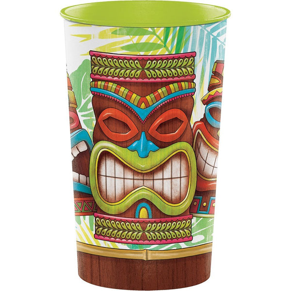 22 oz Tiki Time Platic Cups