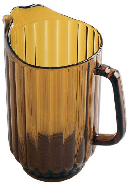Cambro P600CW153 60 Oz Amber Pitcher