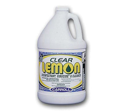 Carroll 77628 Clear Lemon Gallon Disinfectant
