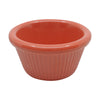 Prolon 9279-CO Coral Canyon Fluted Ramekin 2 oz