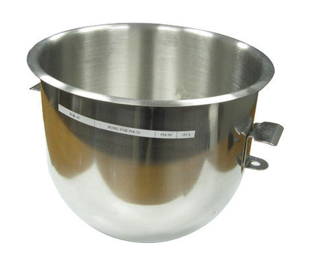 Adcraft PM-90 20 Quart Mixing Bowl For Planetary Mixer